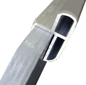 Z-профиль замка для стыковки со стрингером, 12 мм