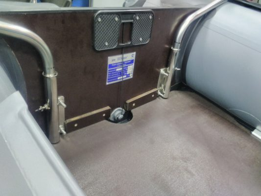 Тарга кормовая для надувных лодок (до 360 см)
