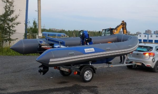 Лодка ПВХ Адмирал RIB 500